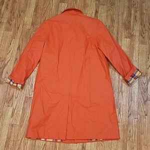 Ralph Lauren Jackets & Coats - Ralph Ralph Lauren Orange Trench Coat Small
